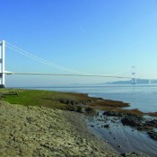 Precious geological exposures by the Severn Estuary could be threatened by a proposed scheme to build a barrage to harness tidal energy (Beachley Point, Gloucestershire).