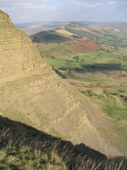 Mam Tor, Derbyshire.