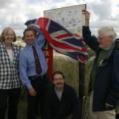 ... Westbury Information Board, Wiltshire.