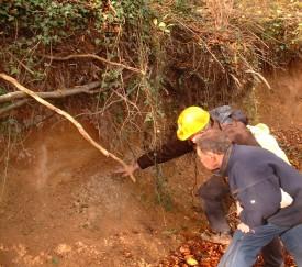 Survey of Quaternary deposits, Sheepscombe, Gloucestershire.