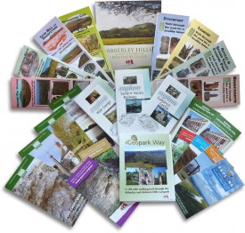 Trail guides and booklets published by the County groups.
