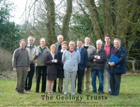 The Geology Trusts founder members.