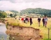 Herefordshire & Worcestershire Earth Heritage Trust guided riverside walk.