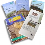 Collection of trail guides.